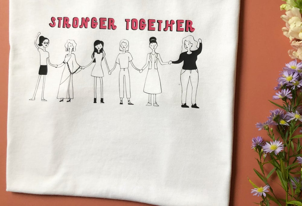 Image of Stronger together tee