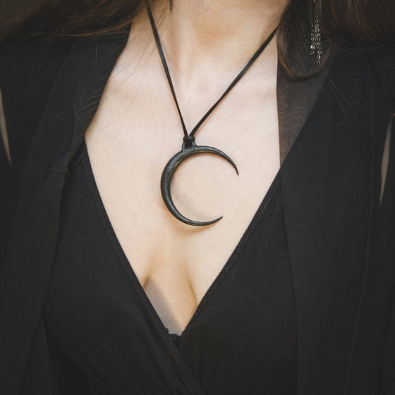 Image of Crescent Moon Pendant