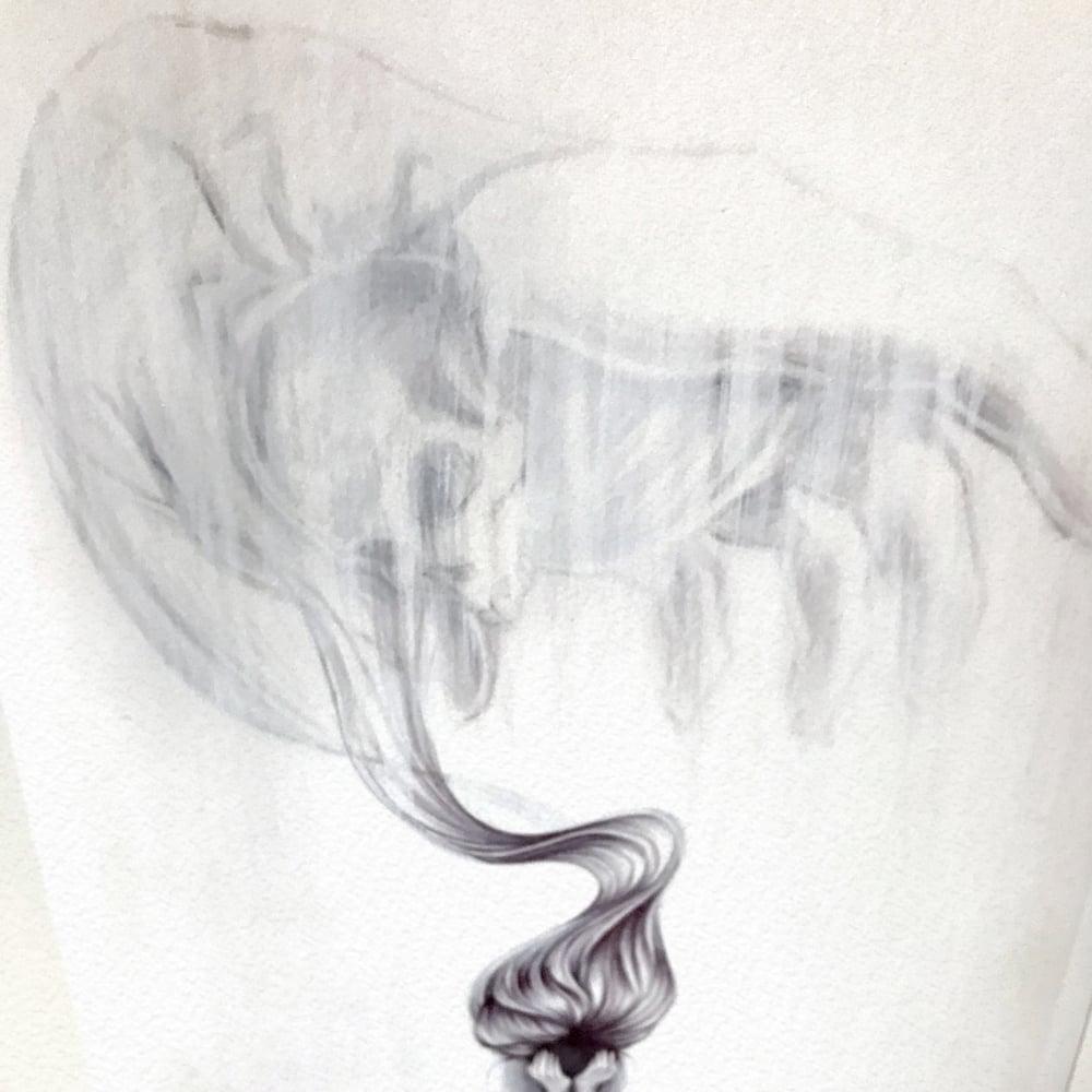 Image of Night Nurse Dreamings - A4 Giclée print