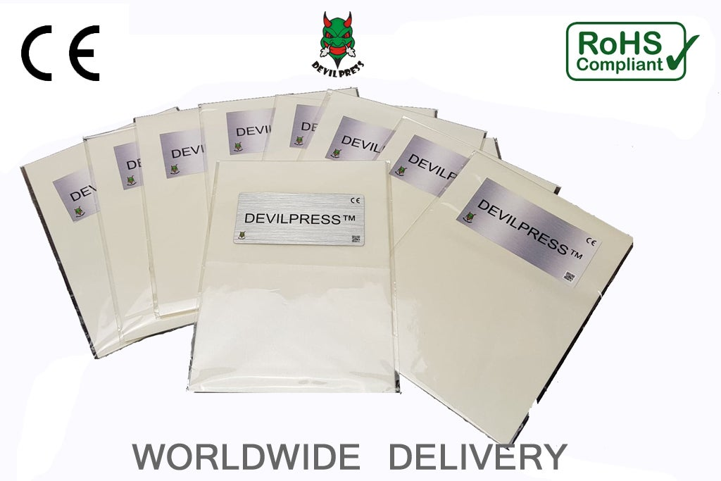 Image of DEVIL PRESS™  Silicone Coated Natural Rosin Press Parchment Paper