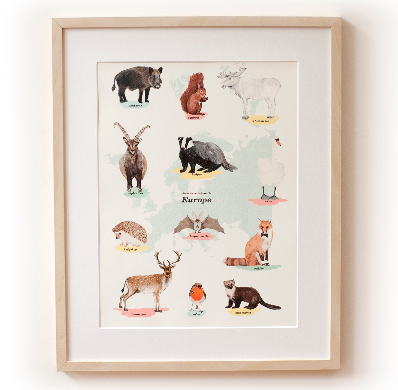 Image of Europe Animal Print