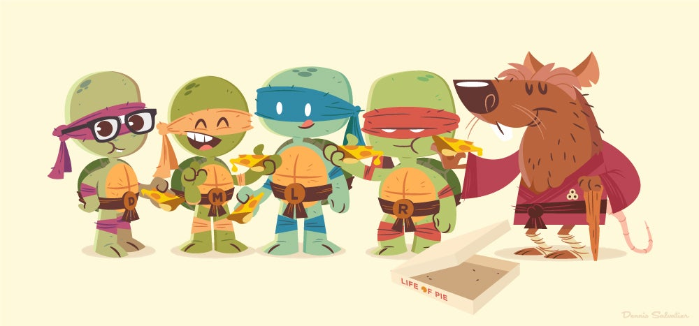 Image of TMNT: National Pizza Day