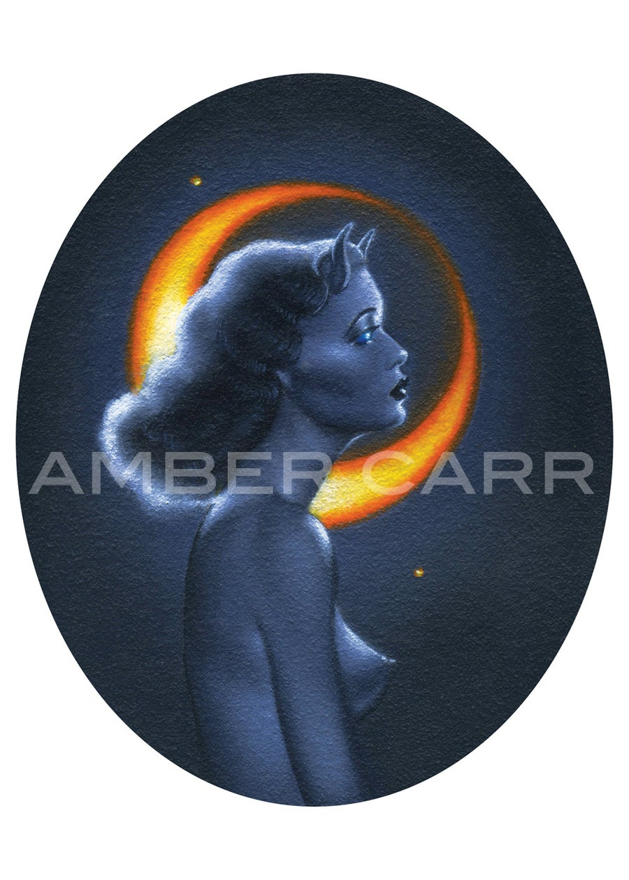 "Image of Crescent I 5"" x 7"" Mini Poster print"