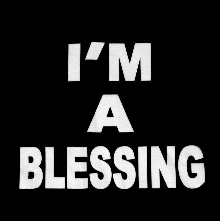 "Image of ""I'M A BLESSING"" ADULT T-SHIRT"