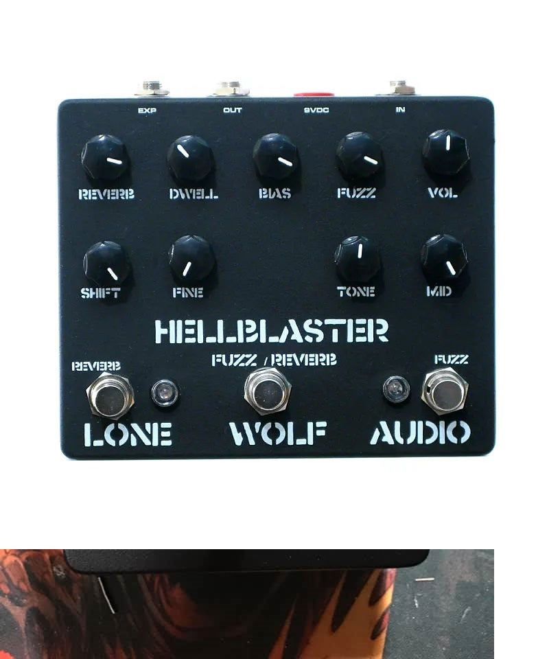 Image of HELLBLASTER FUZZ/REVERB Pre sale LTD