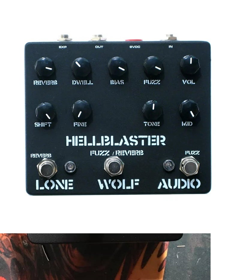 Image of HELLBLASTER FUZZ/REVERB Pre sale LTD
