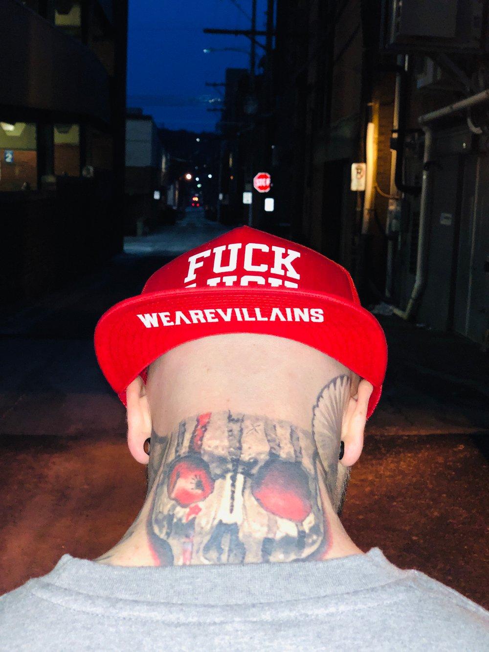FUCK LUCK SnapBack hat