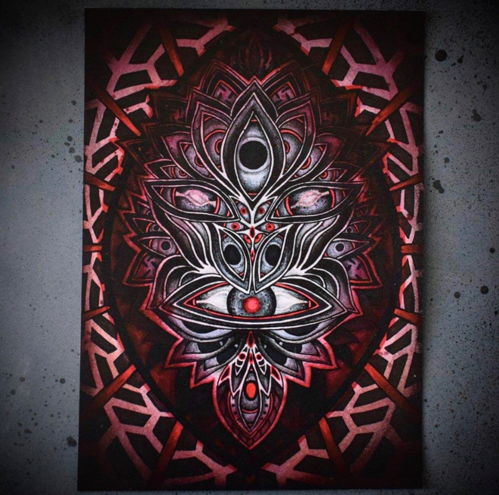 Image of Lysergic Mask Prints