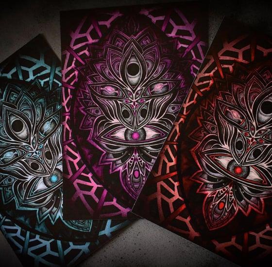 Image of Lysergic Mask Prints