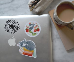 Image of Strawberry Bunny Sticker
