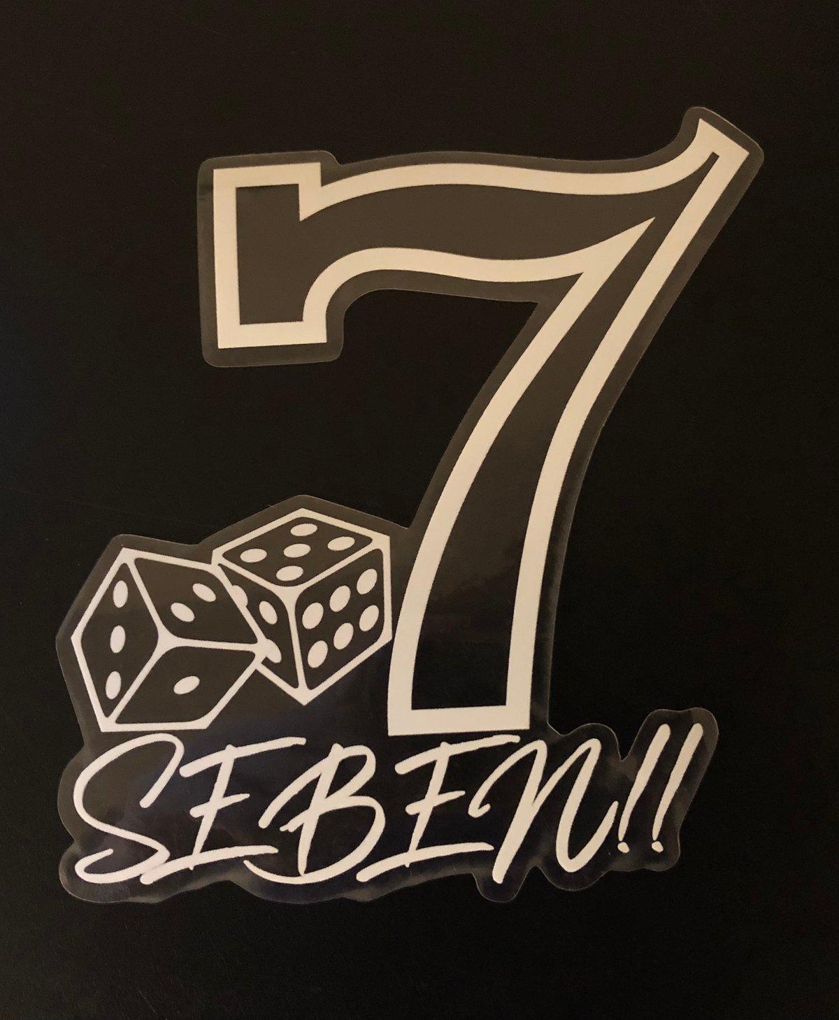 Image of SEBEN Sticker