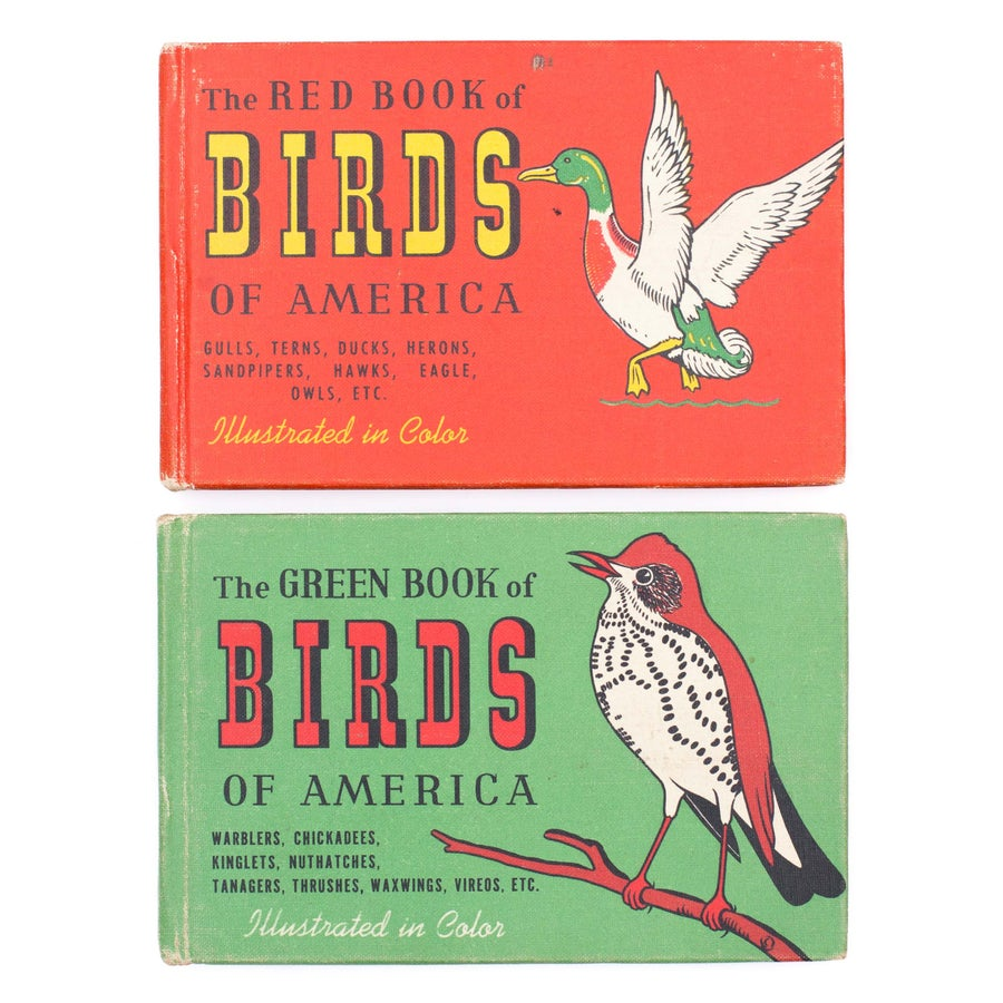 Image of Birds of America Books - Red or Green Books