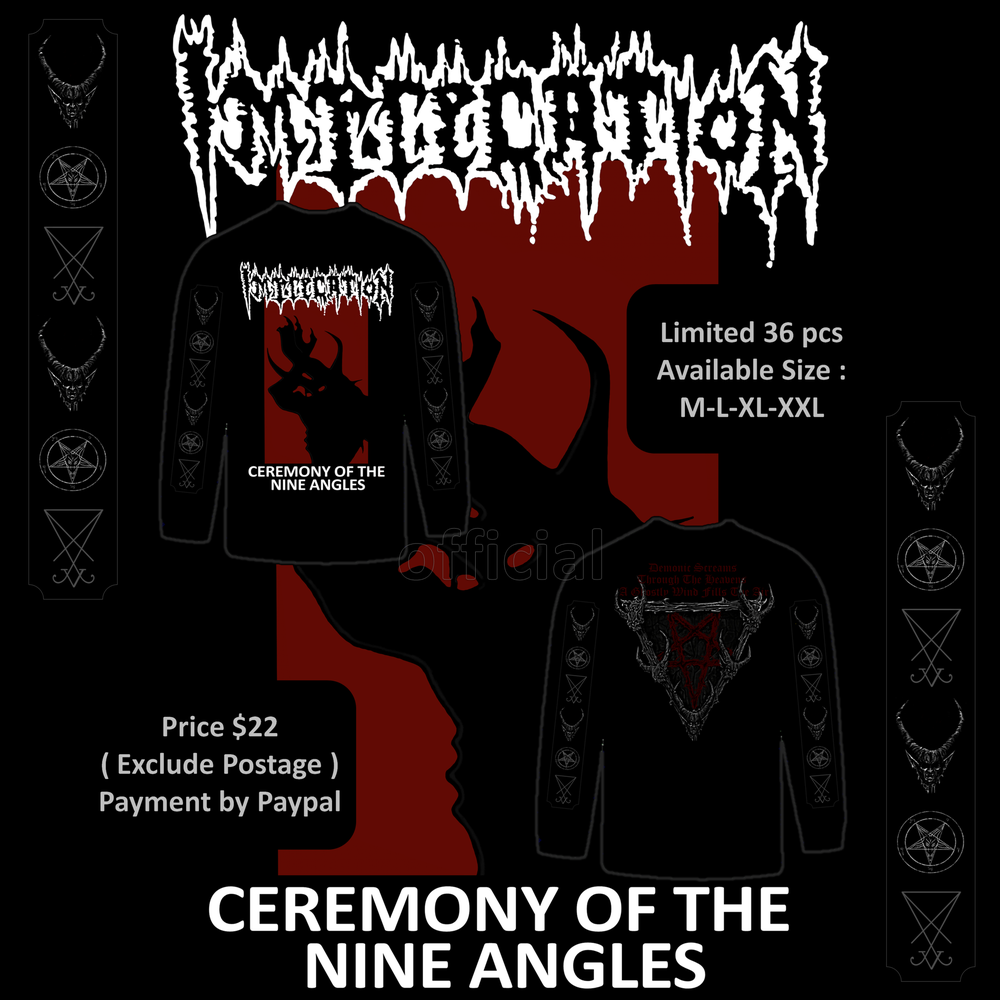 "Image of IMPRECATION  ""Ceremony Of The Nine Angles"" 1992"