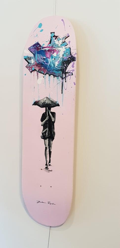 Image of Rainy Day- skateboard