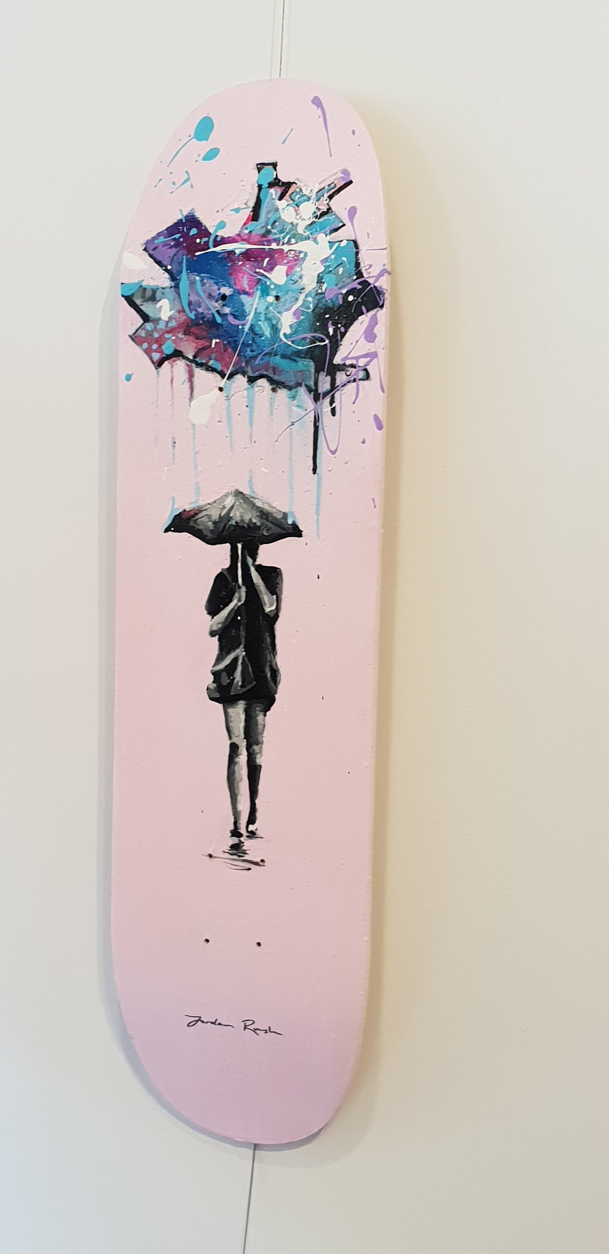 Image of Rainy Day- skateboard