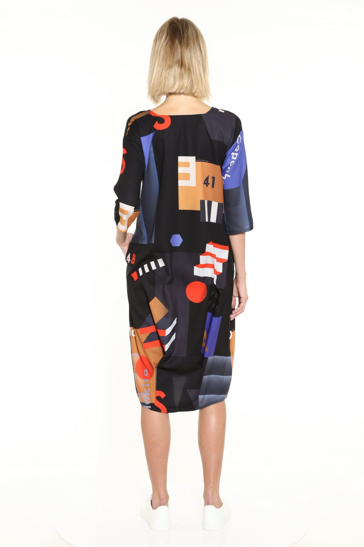 Image of Matter Matters Gallery Midi Summer Dress - Mokita Black