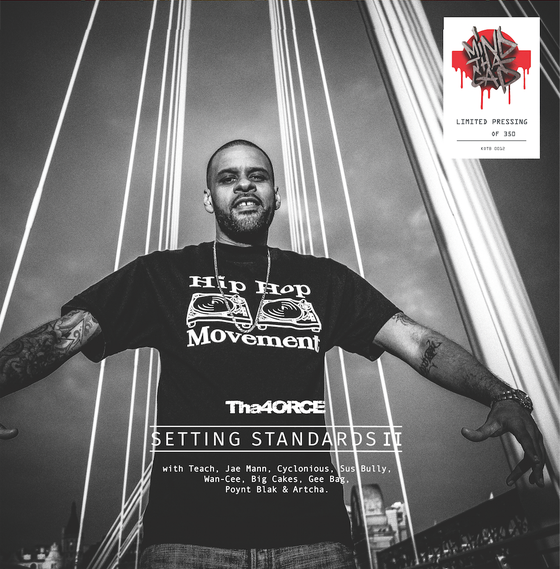 Image of THA 40RCE - SETTING STANDARDS 2 LIMITED EDITION VINYL ALBUM
