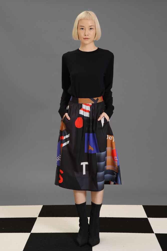 Image of Matter Matters Gallery - Midi Skirt - Mokita Black