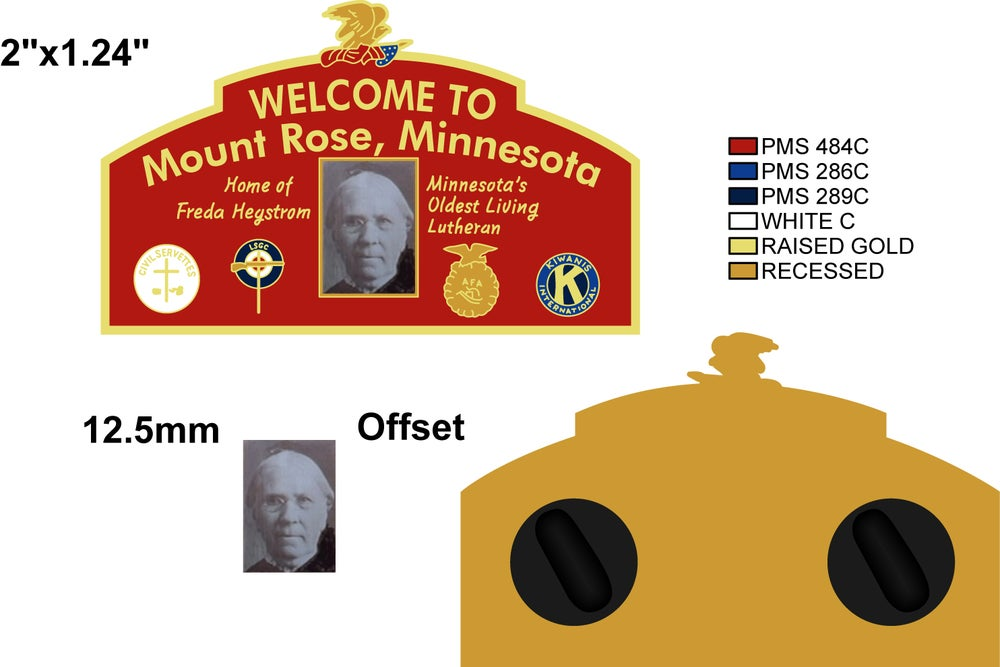 Image of WELCOME TO MOUNT ROSE (PREORDER -- SHIPS 4/2)