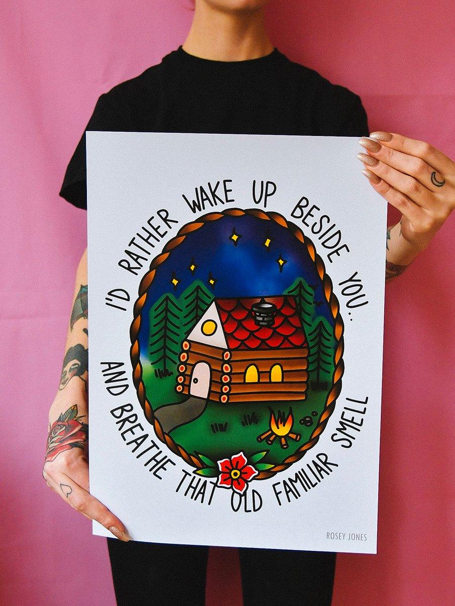 Image of Print Log House