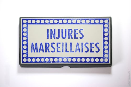 Image of Injures marseillaises