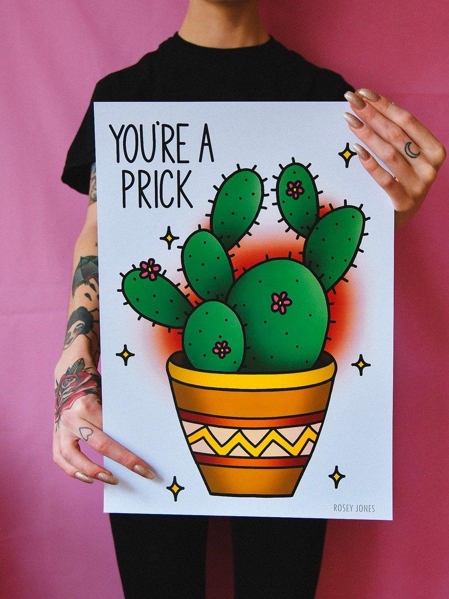 Image of Print Cactus Prick