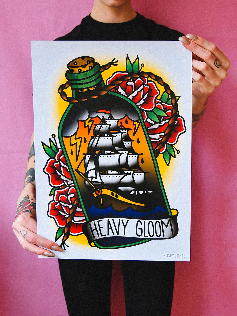 Image of Print Heavy Gloom