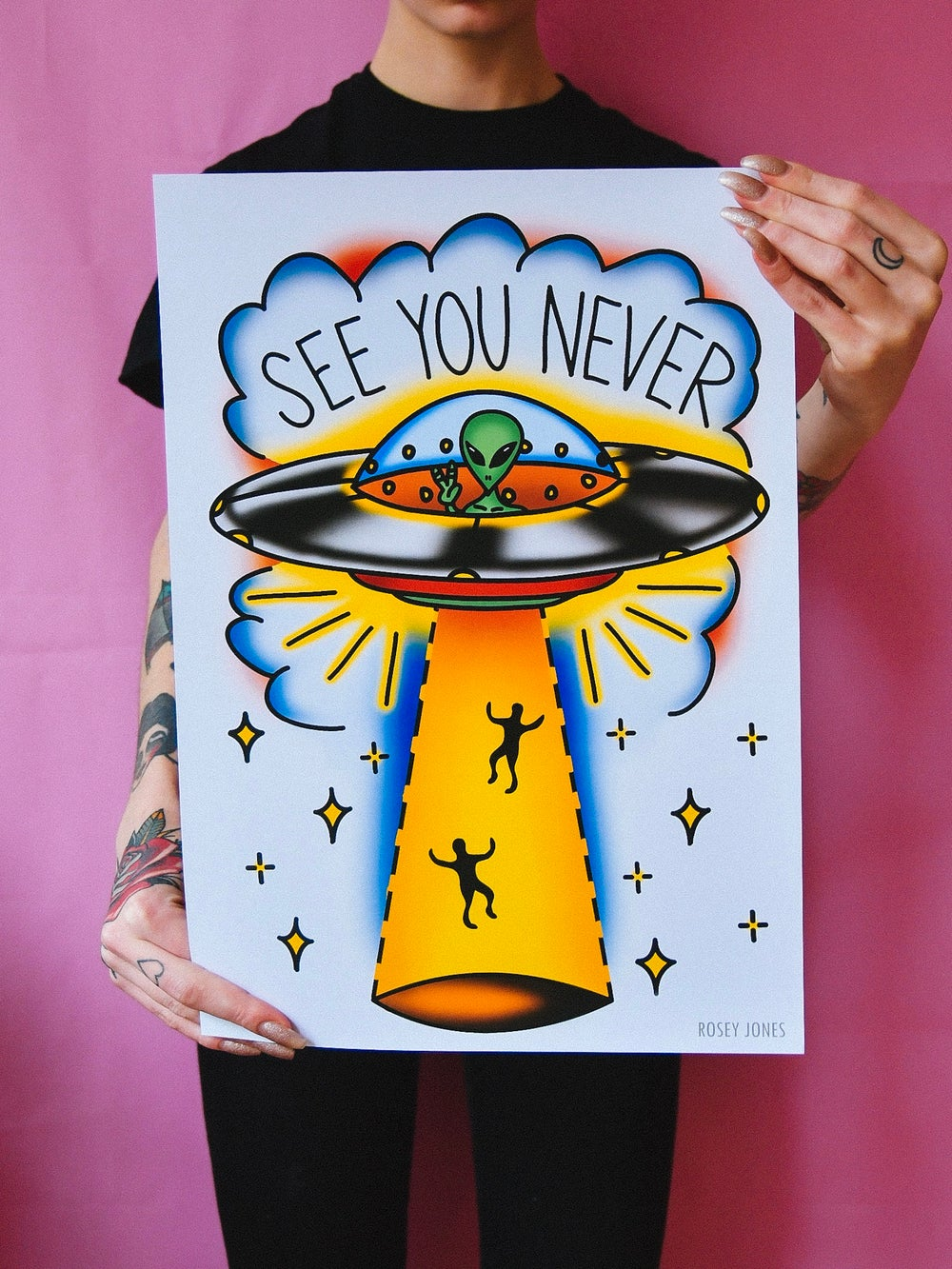 Image of Print See You Never