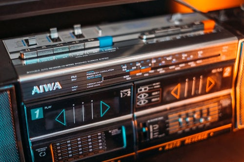 Image of AIWA CS-W700Z BLUETOOTH BOOMBOX (1986)