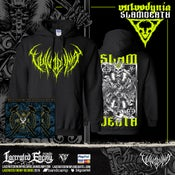 Image of VULVODYNIA - Slam Death 2019 - Hoodie (Black)