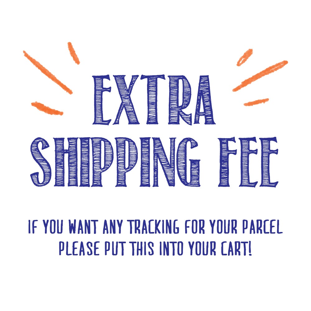 Image of Extra Shipping fee with tracking 郵件追蹤功能額外收費