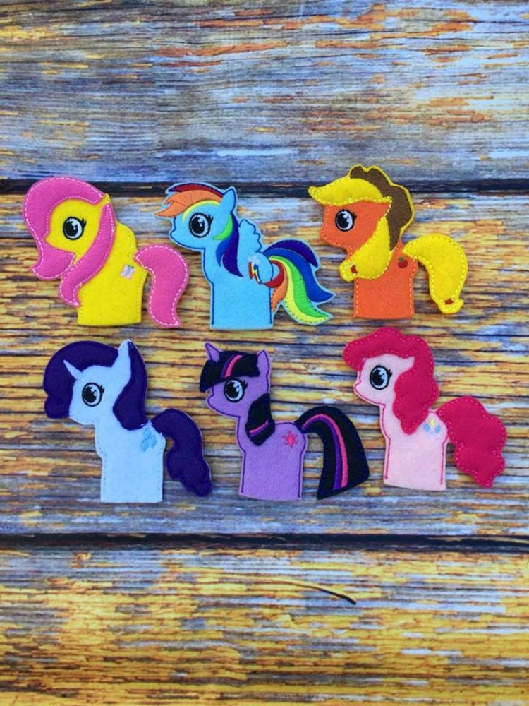 Image of My Little Ponies