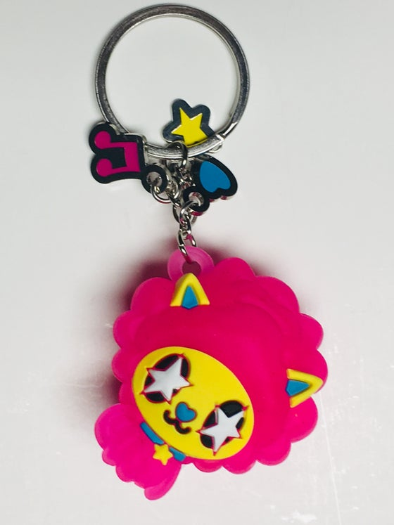 Image of MAD Disco Kitty Light-up Keychain