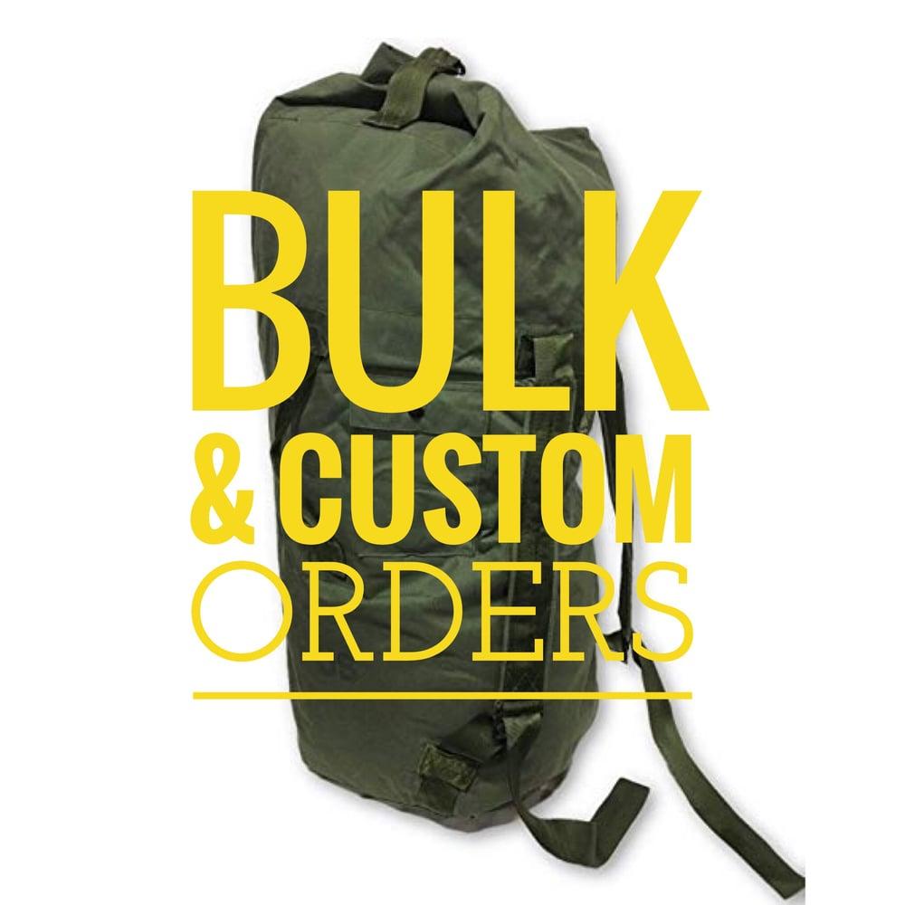 Image of Bulk & Custom Orders