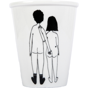 Image of TASSE COUPLE NU - VERSO, HELEN B