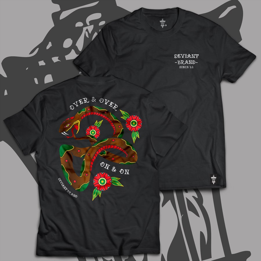 "Image of **NEW** ""Ouroboros"" Tee!"