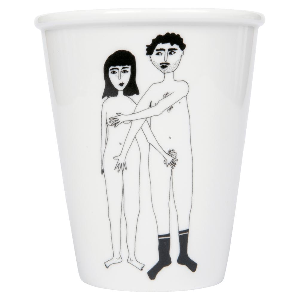 Image of TASSE COUPLE NU - RECTO, HELEN B