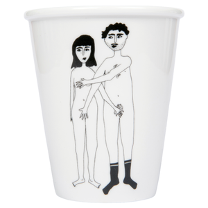 Image of TASSE COUPLE NU - RECTO, HELEN B