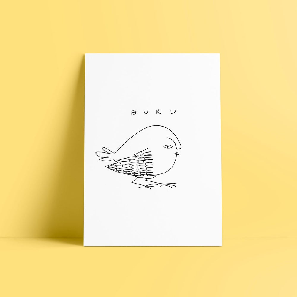 Image of burd - art print