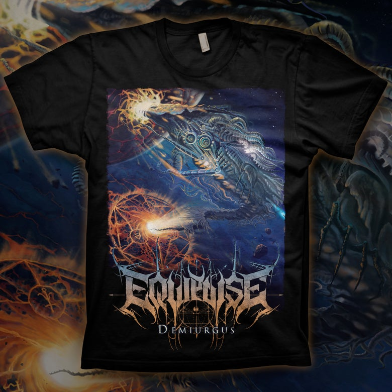 Image of EQUIPOISE - Demiurgus T-Shirt