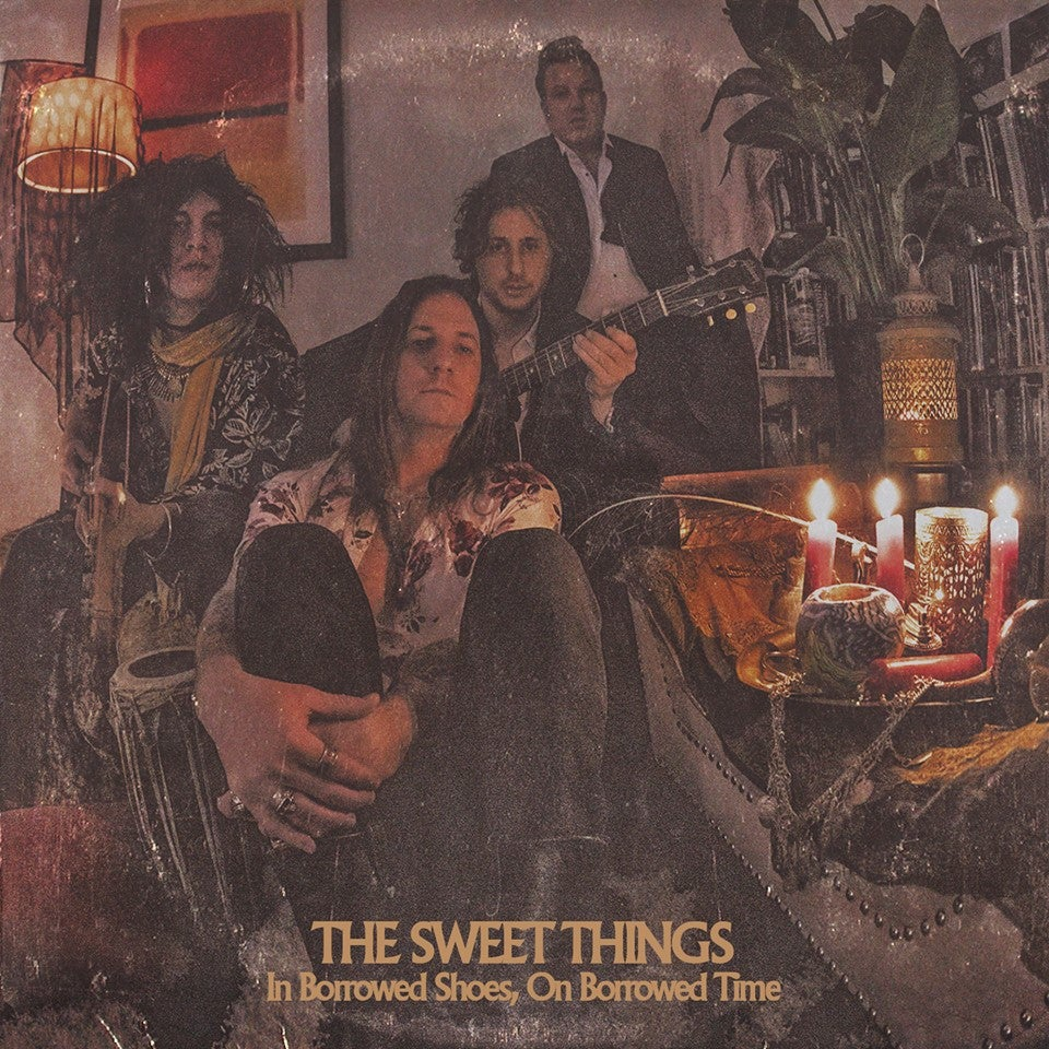 """The Sweet Things """"In Borrowed Shoes, On Borrowed Time"""" LP or CD"""