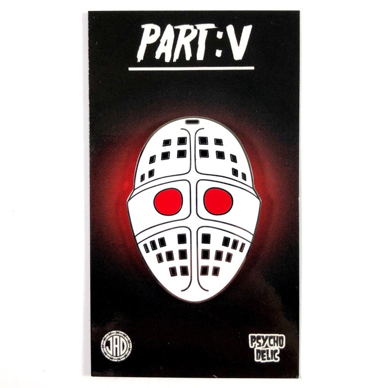 Image of Part V Mask (Enamel Pin)