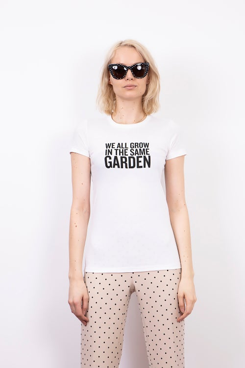 "Image of ""We All Grow In The Same Garden"" T-Shirt"
