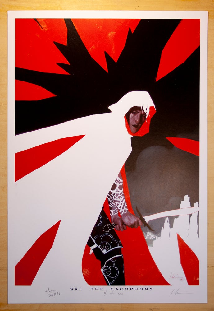 Image of Sal The Cacophony Limited Edition Prints