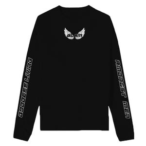 Image of GODDESS WINGS BLACK LONG SLEEVE | OFFICIAL GODDESS ENERGY COLLECTION