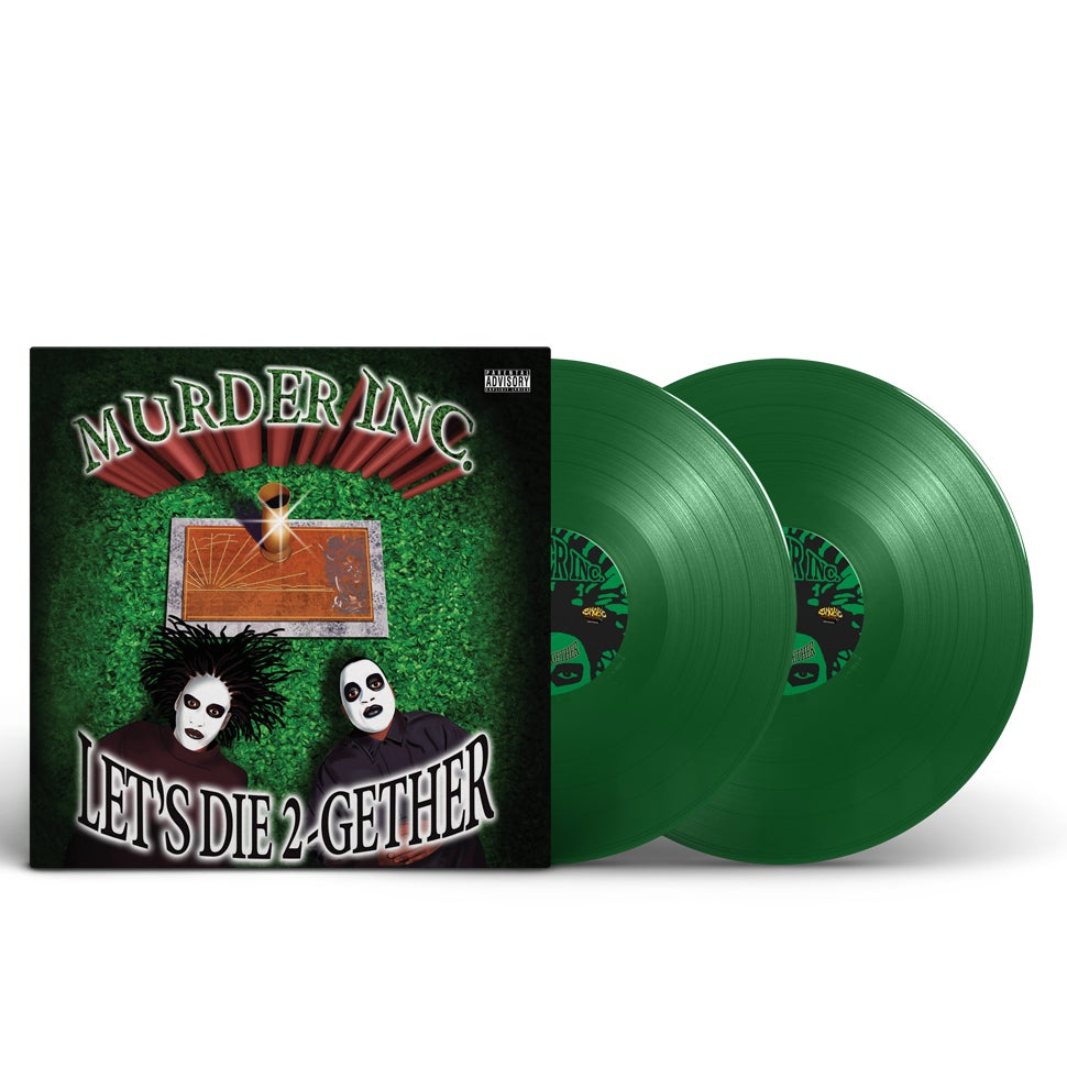 Image of Murder Inc - Let's Die Together green Vinyl