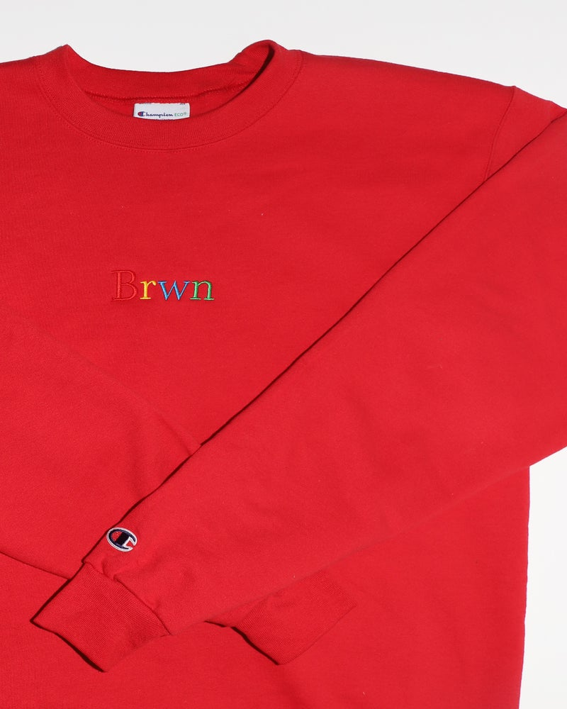 Image of Brwn Crewneck (Champion)