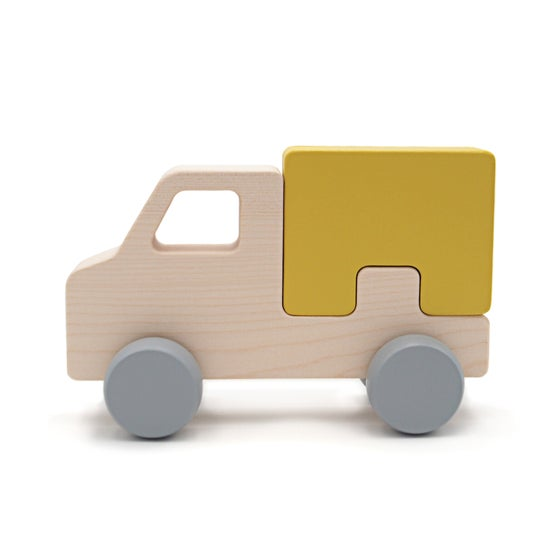 Image of Puzzle Truck Moutarde