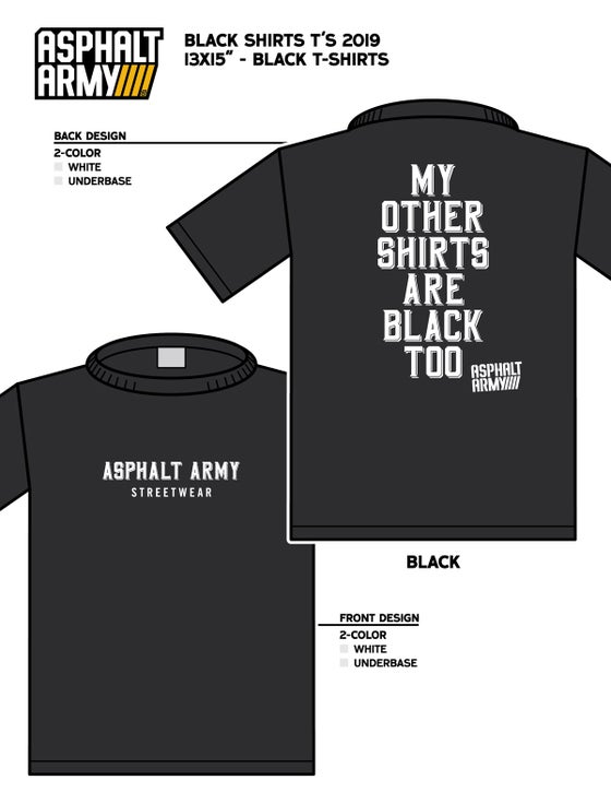 Image of BLACK SHIRTS