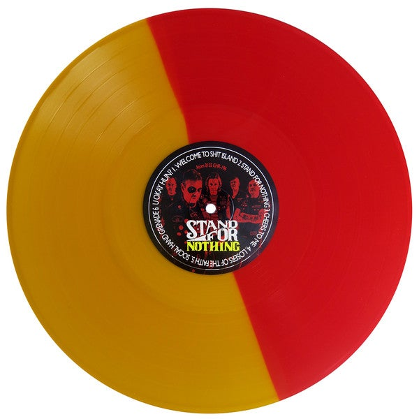 Image of The Hip Priests 'Stand For Nothing' COLOUR VINYL last few